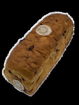 Afbeeldingen van Rozijnenbrood met spijs
