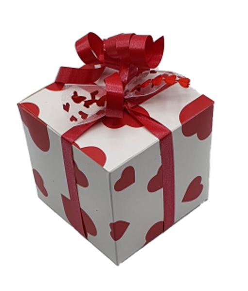 Afbeelding van Luxe chocolade doos 200 gram