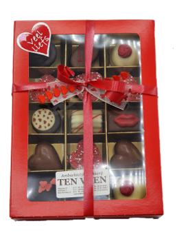 Afbeeldingen van Luxe chocolade doos 15 stuks