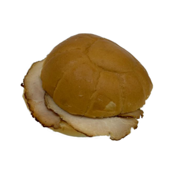 Afbeelding van witte bol varkensrollade